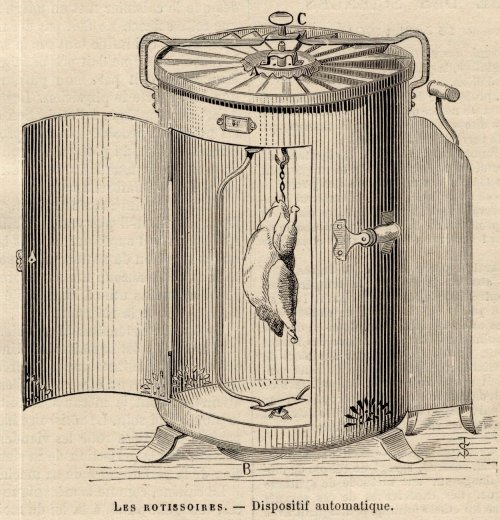 Rôtissoire invention fleur Rotissoire-585aa